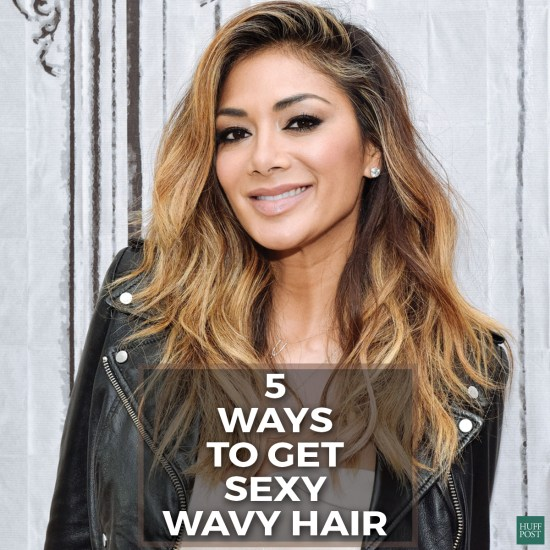 nicole wavy hair