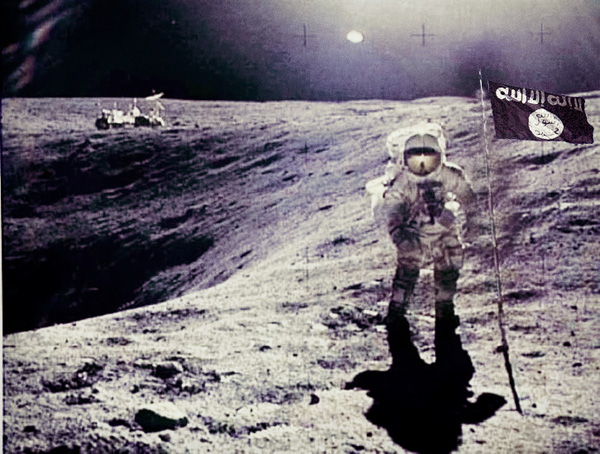 ISIS Lands Astronaut On The Moon