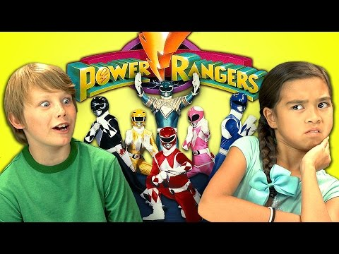 Kids React to Power Rangers Will Make You Feel Old