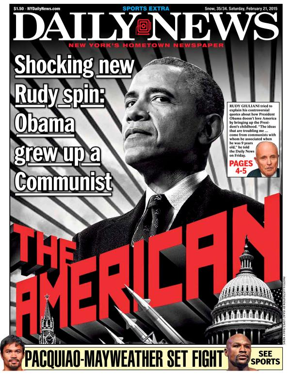 Giuliani:  Obama Grew Up a Communist