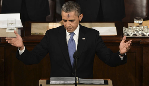Obama Vows to Give Up Christians and Destroy Jesus For Lent
