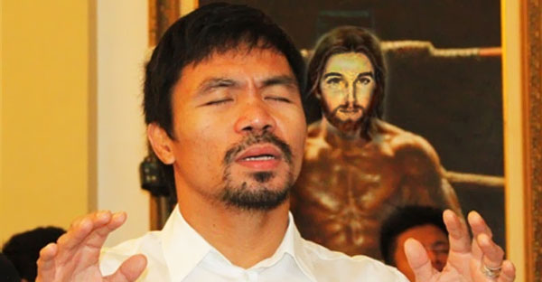 God Is Placing 5 to 6 Odds On Manny Pacquiao, Mayweather is 'Too Soft in the Faith'
