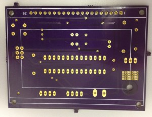 Other side of the BoatGPS PCB.