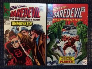 Daredevil #28 and #29 - beautiful NM-/NM copies!