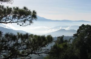 View across the hills near Baguio - envy us!