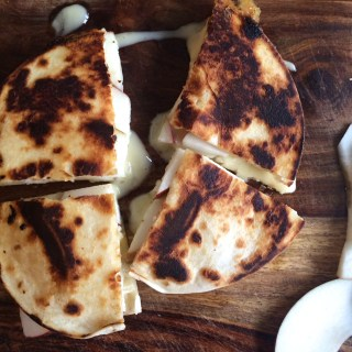 Apple, Brie & Honey Quesadilla