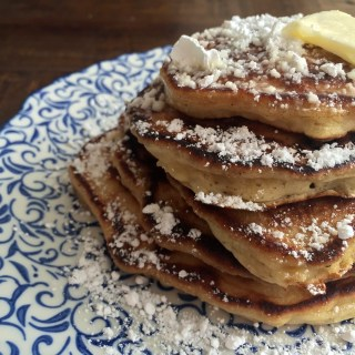 Banana & Brown Sugar Pancakes