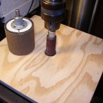 Step By Step Process To Make Spindle Sanders for the Drill Press