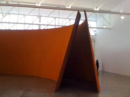 Richard Serra: Junction / Cycle Exhibition at Gagosian Gallery, New York