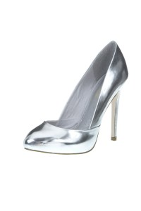 Topshop silver shoes