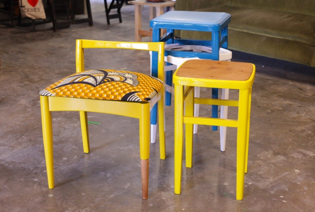 Odd one out, table&amp;chair, stacks, Yinks Designs