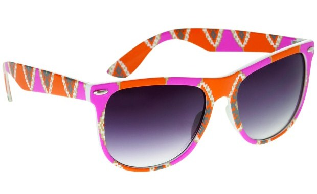 Topshop, Aztec Orange Pink Wayfairers