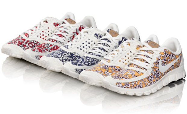 Liberty Print Nike Trainers