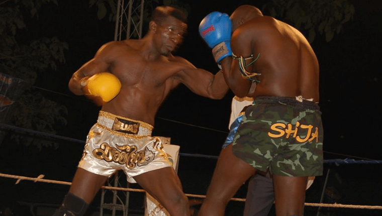 Golola Moses in action