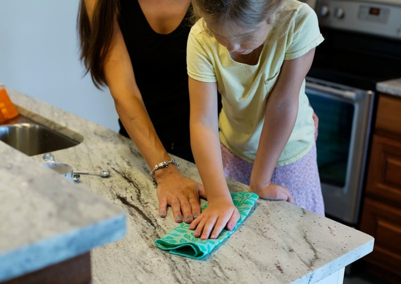 How to Get Kids to Help in the Kitchen – from Cooking to Cleaning Up
