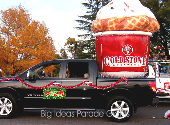 Cold Stone Creamery Airtight Parade Float