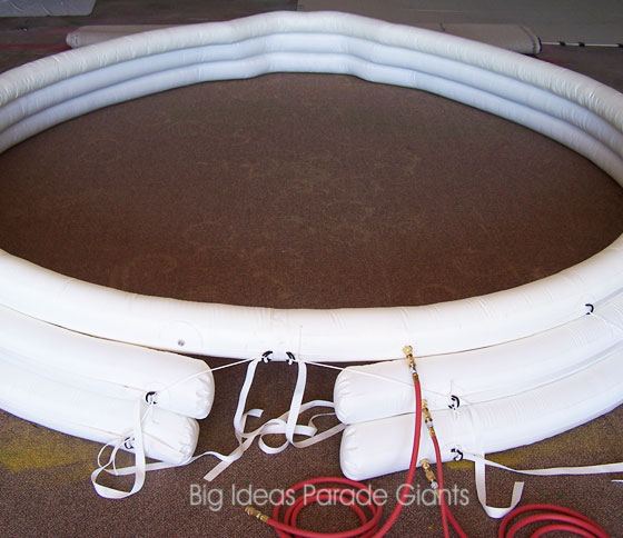 Custom Airtight Inflatable Collar for The Boeing Company