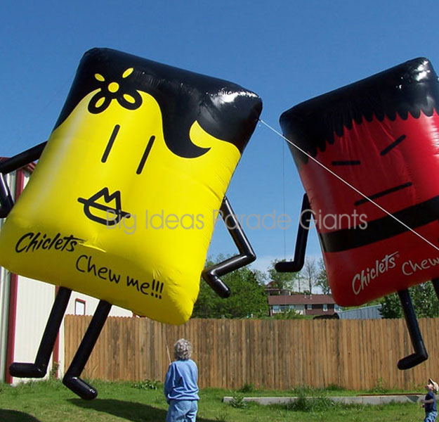 Chicklets Helium Parade Balloons