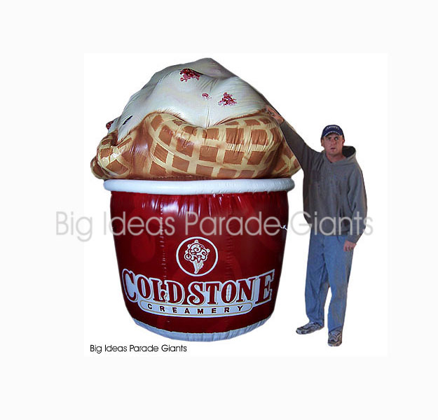 Cold Stone Creamery Sealed Airtight Balloon