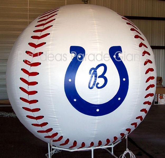 Baseball Helium Sphere 6.5 ft