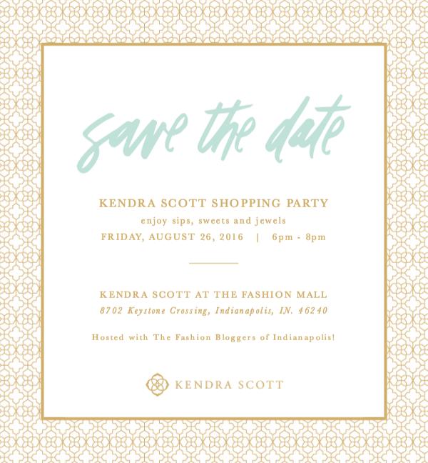 Kendra Scott Invitation