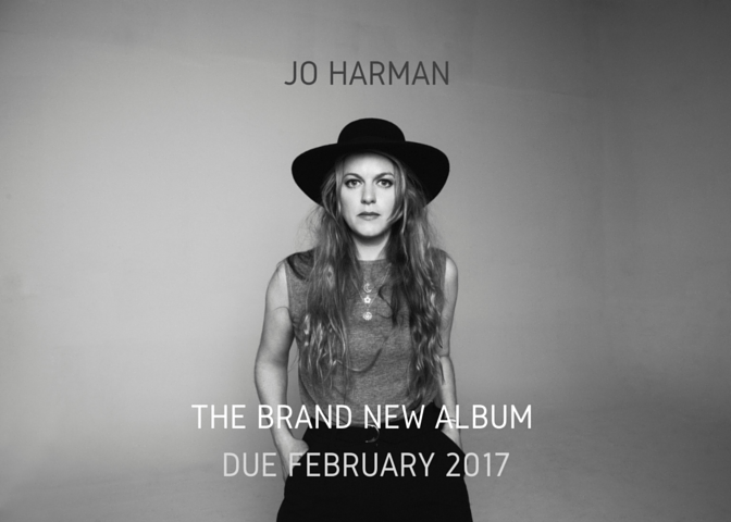 Jo Harman new album Feb 2017