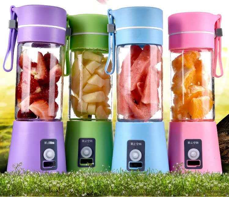 Rechargeable Juice Blender /Tumbler 380ml_Bigmk.ph