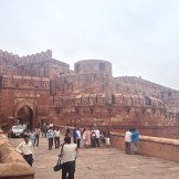The Red Fort Entrance (Agra, India)
