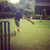 Backyard Cricket at the Sharma International Cricket Stadium (Delhi, India)