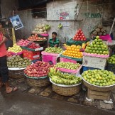 Bright Colours at the Fruit Stand (Kolkata, India)