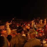 Ganga Aarti Ceremony at Dashashwamedh Ghat (Varanasi, India)