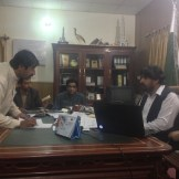 Afternoon tea with the Assistant District Commissioner (Dalbandin, Pakistan)