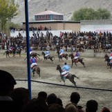 Polo Action (Gilgit, Pakistan)