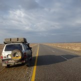 The road to Iran (outside Taftan, Pakistan)