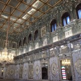 The mirror room in Golestan Palace (Tehran, Iran)