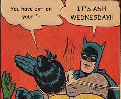 Batman Robin Comic Book Ash Wednesday 2