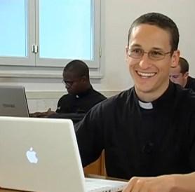 Priest Laptop Computer Seminarian