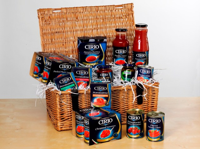 Cirio Hamper competition