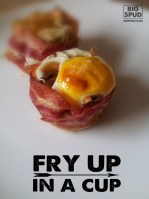 fry up in a cup easy breakfast