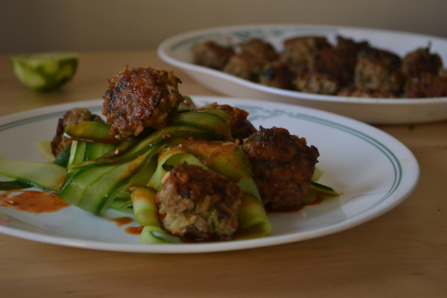 Chicken Rice Meatballs