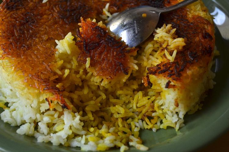Crispy Paella Rice