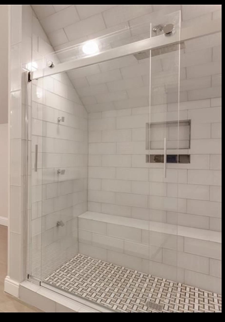 Richardson Remodel Shower Door