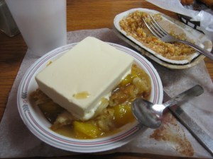 Lexington BBQ #1 Peach Cobbler