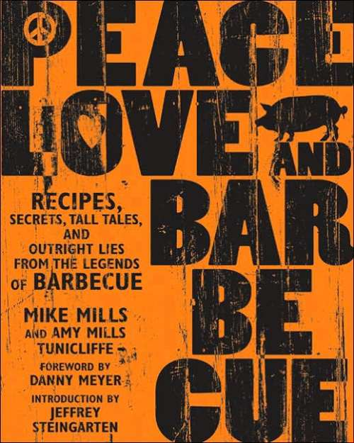 Peace Love and Barbecue Front Cover