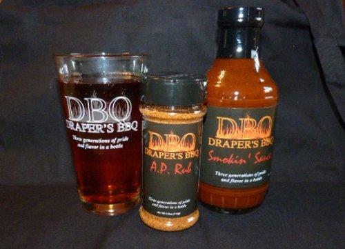 Draper's BBQ 1-Pint Pack