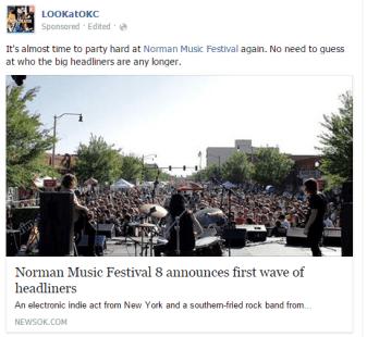 Norman Music Festival announces headliners
