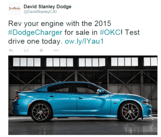 Test drive a Dodge Charger at David Stanley Dodge