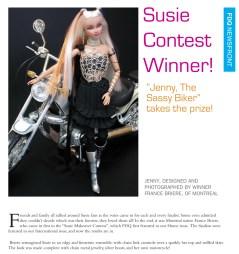 Competition Susie Jenny FDQ Contest winner