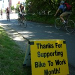 Bike Month raving success, kudos to Cascade!