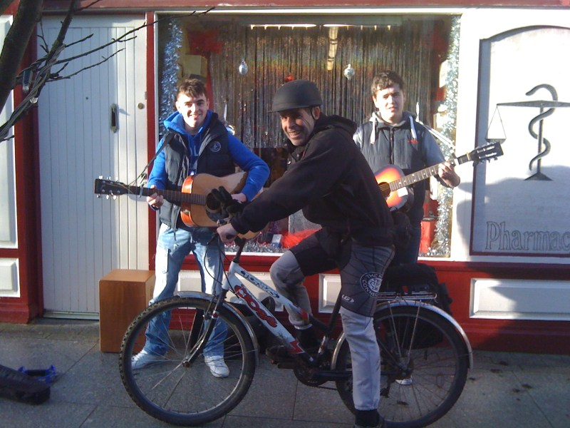 All in an Irish Castlebar Christmas Ride